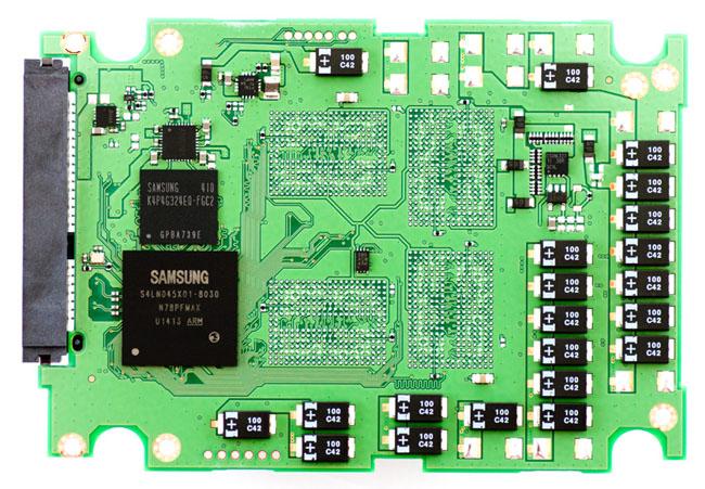 Samsung SSD845DC EVO PCB bottom