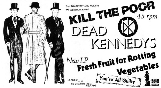 Dead Kennedys: Fresh Fruit for Rotting Vegetables, The Early Years_fallout