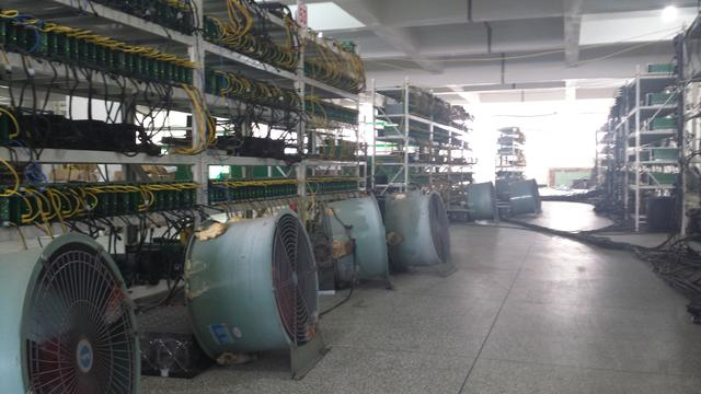 Inside a secret north china bitcoin mine. Copyright Jacob Smith (Bitsmith) @ The Coinsman - used with permission