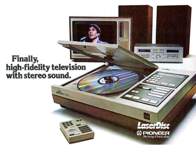 Pioneer LaserDisc advertisement