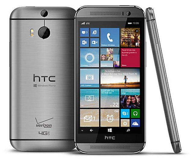 Picture of the HTC One M8 for Windows Phone