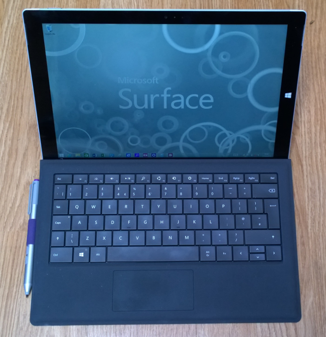 Surface Pro 3, photo: Tim Anderson