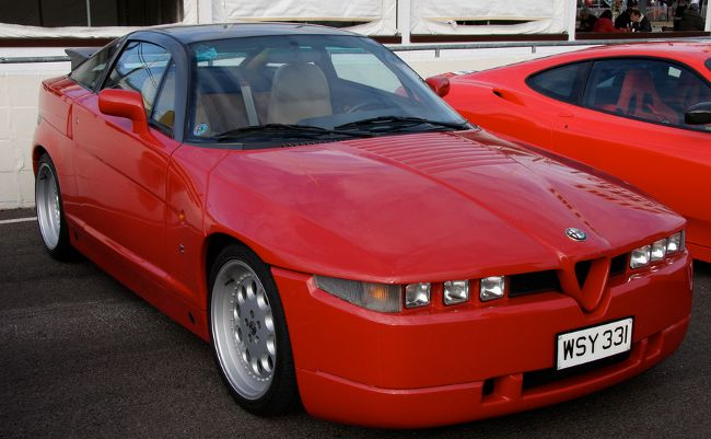 Alfa Romeo SZ. Credit: Brian Snelson