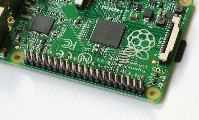 Extended GPIO B+ raspberry pi