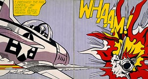 Roy Lichtenstein Wham! Bang!