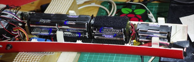 The battery packs in our Vulture 2