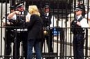 Police outside 10 Downing Street. Credit: zongo