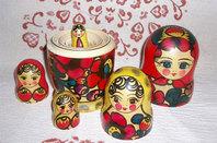 Russian matyoshka dolls