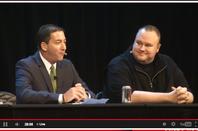 Glenn Greenwald and Kim Dotcom