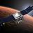 Artist concept of MAVEN in orbit around Mars