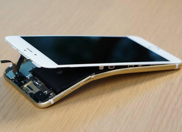 bent iphone 6