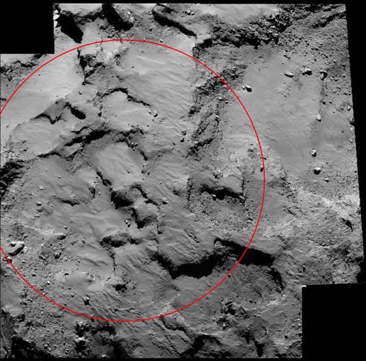 rosetta asteroid landing ocean - photo #13
