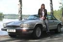 Jaguar XJS modified for fuel efficiency