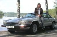 Jaguar XJS modified for fuel efficiency