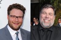 Seth Rogen and Steve Wozniak