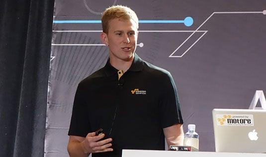 Amazon Web Services engineer Dan Gerdesmeier
