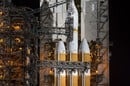 Orion on the launch pad fuelling up
