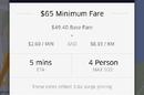 Uber surge pricing during Sydney seige