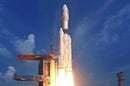 India's GSLV Mk-III rocket clears the tower