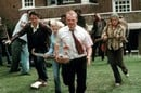 Shaun of the dead zombies cricket bat movie still. Copyright Universal Pictures