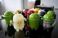 Android icon desktop toys
