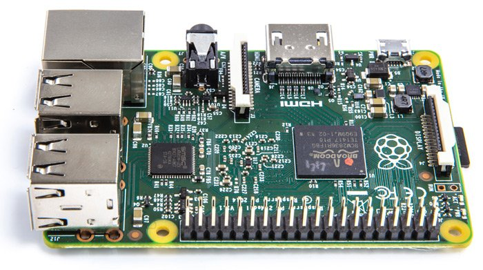 Another view of the Pi 2
