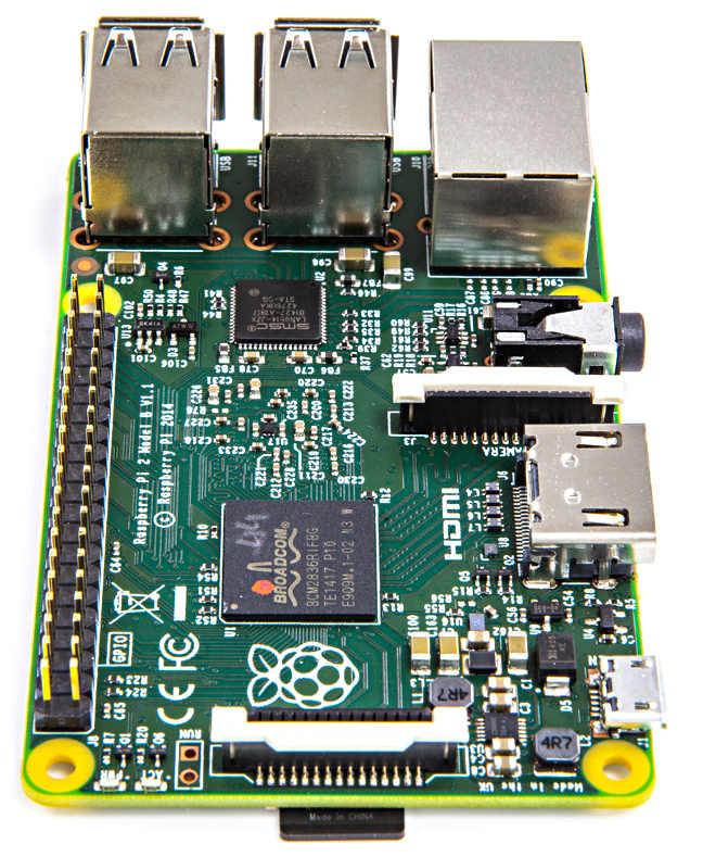 The Raspberry Pi 2 Model B