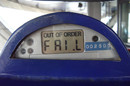 Parking meter FAIL from Ryan Stele's Flickr account  https://www.flickr.com/photos/tweek/139509551/in/photolist-dk2k6-8VcmSf-5w27pU-7RdimR-7RdiiK-7RdifK-7Rgz8f-7Rdiai-czUVBh-9Ls61i-5cY5jG-9bGK2Y-6VH3Xz-5YVGNT-abaRJ9-6PjTC5-6opqMB-jitAoe-5Yvee7-65tNZD-5xf3hB-a9Zegh-845DZg-ocfXQT-bfZB5z-aWWvax-bVe3vu-6yra6f-6yra4A-8nudtt-6WhDiL-6qNQyT-7YYReC-6yra5N-6yra3w-6yra2Y-6yn2HX-a6MPYs-6yn2Qx-6yn2Pv-6yra49-6yra2q-6yn2Hx-6yra57-6qT1yb-55rYVK-6yra75-6yr9ZQ-6odx71-68EVsF