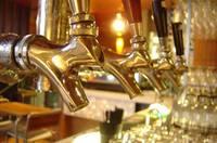 Beer taps at a pub. Via http://www.freeimages.com/