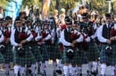 Marching bagpipes, image via Shutterstock