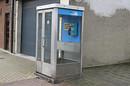Belgacom phone box. Pic: Peter van den Bossche
