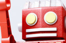 head of 50s-style robot