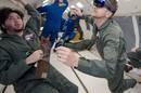 HoloLens testing on the vomit comet