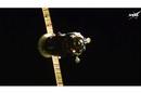 Progress 60 approaching the ISS