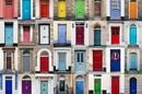 array of front doors (doorswarehouse.co.uk)