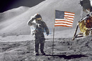 Scott on the surface of the Moon during Apollo 15. Pic: NASA