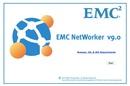 EMC NetWorker 9