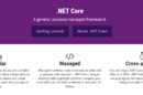 .NET Core, Microsoft's fork of the .NET Framework for cross-platform and open source