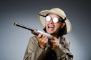 Hunter, image via Shutterstock