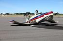 Crashed plane, photo via Shutterstock