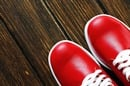 red shoes. Photo by shutterstock