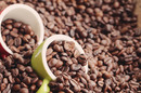Coffee beans, image via Shutterstock