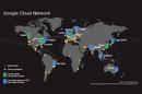 Google cloud network map