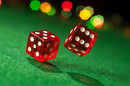 Dice, photo via Shutterstock