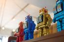 Robots massed photo via Shutterstock