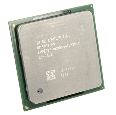 Intel Prescott CPU