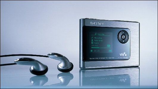Sony Network Walkman HDD - NW-HD1