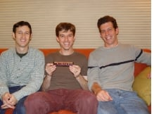 Picture of Mike Shapiro, Bryan Cantrill and Adam Leventhal