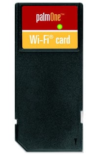 PalmOne Wi-Fi SD card for Tungsten T3, Zire 72