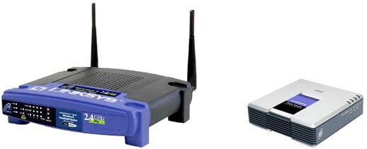 Linksys WRT54GP2 and PAP2